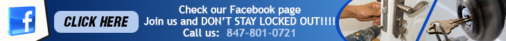 Join us on Facebook - Locksmith Des Plaines